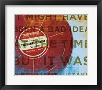 Brilliant Mistake Framed Print