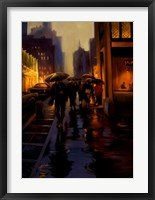 Framed Manhattan Shimmer