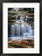 Framed Waterfall Whitecap Stream