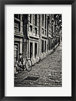 Framed Cobblestone Streets