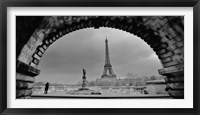 Framed Paris, Under the Bridge