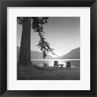 Framed Crescent Lake I