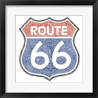 Framed Legendary Route 66