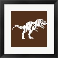 Framed Tyranosaurus Rex