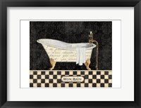 Framed French Bathtub I