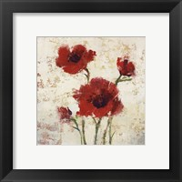 Framed Simply Floral I