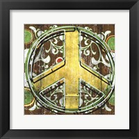 Framed Peace 2 (sign)
