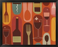 Wine & Dine Framed Print