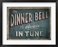 Framed Dinner Bell
