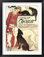 Framed Clinique Cheron