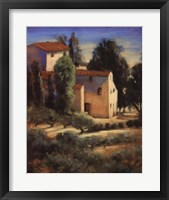 Framed Tuscan Fields