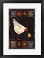 Framed Mother Hen I