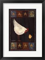 Framed Mother Hen I