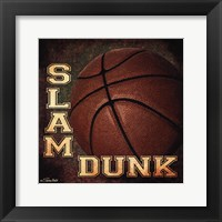 Framed Slam Dunk