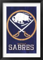 Framed Sabres - Logo 13