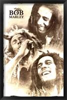 Framed Bob Marley - Soulful
