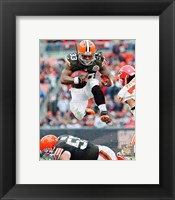 Framed Trent Richardson 2012 Football Action