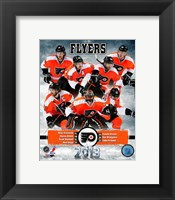 Framed Philadelphia Flyers 2012-13 Team Composite