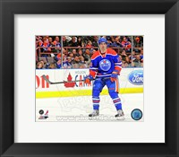 Framed Justin Schultz 2012-13 Action