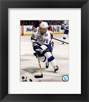 Framed Martin St. Louis 2012-13 Action