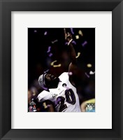 Framed Ed Reed Super Bowl XLVII Celebration