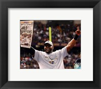 Framed Ray Lewis Super Bowl XLVII Celebration