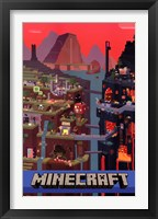 Framed Minecraft - Cube