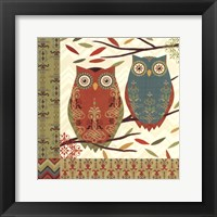 Framed Hoot I