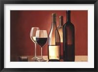 Framed Wine Trio