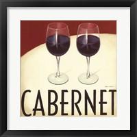 Vin Moderne IV Framed Print