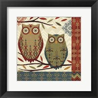 Framed Hoot II