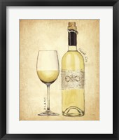 Grand Cru Blanc Framed Print