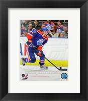 Framed Taylor Hall on Ice 2012-13