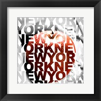 Framed New York – Big Apple
