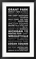 Chicago Cities II Framed Print