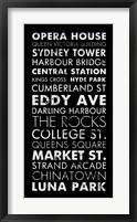 Framed Sydney II