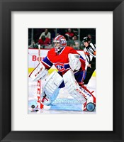 Framed Carey Price 2012-13 Action
