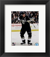 Framed Sidney Crosby Rejoicing 2012-13