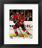Framed Jonathan Toews 2012-13