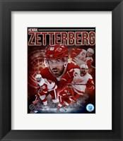 Framed Henrik Zetterberg 2013 Portrait Plus
