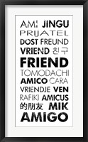 Framed Friend Languages