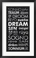 Framed Dream in Different Languages