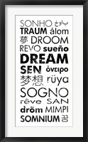 Framed Dream Languages