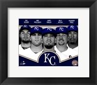 Framed Kansas City Royals 2013 Team Composite