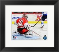 Framed Cam Ward 2012-13 hockey