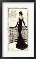 Framed La Belle Noir