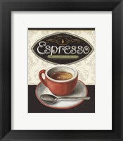 Framed Coffee Moment III
