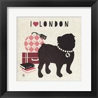 Framed London Pooch