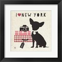 Framed NY Pooch