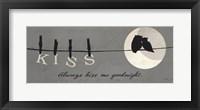 Moon Lovers II Framed Print